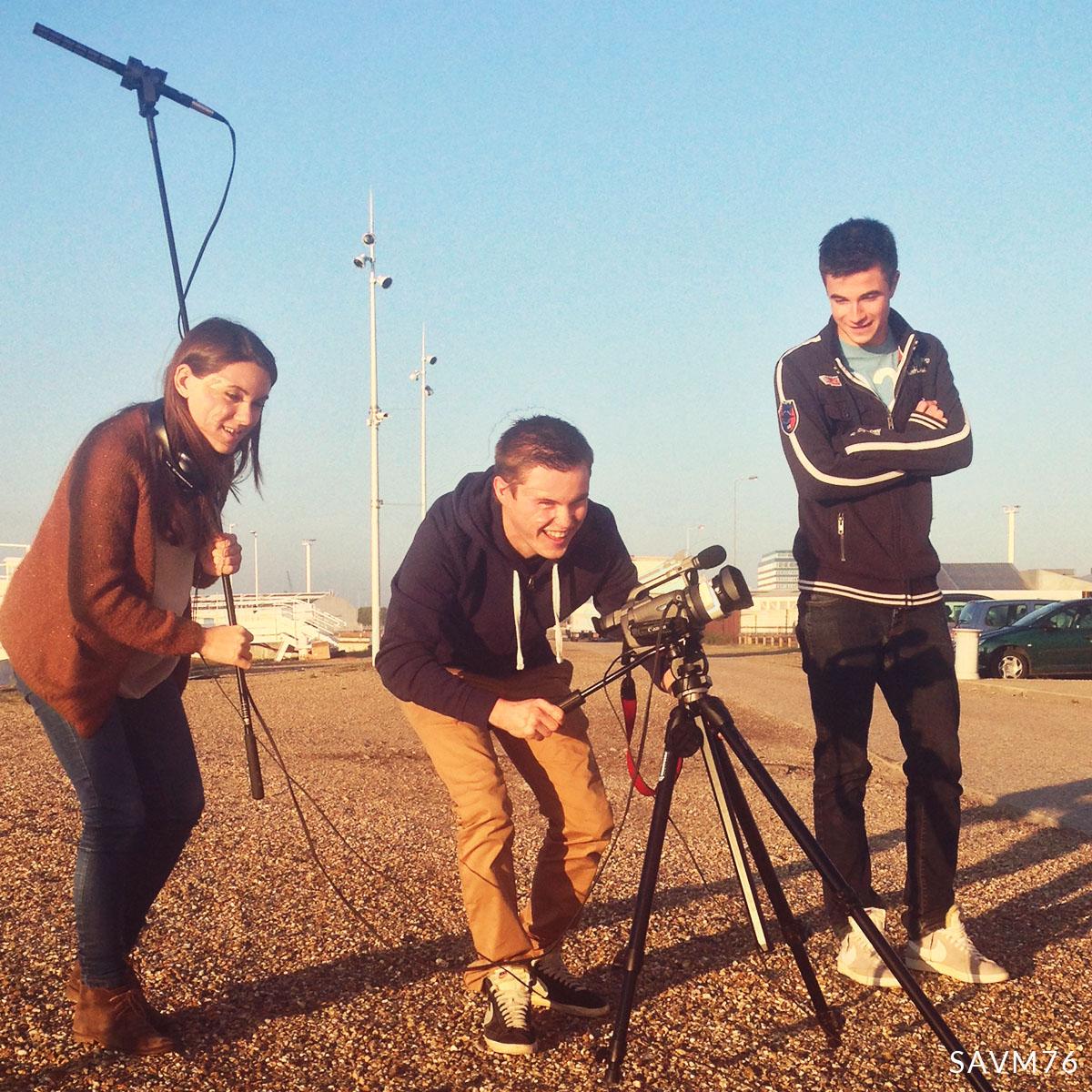 Information Numérique dans les Organisations - tournage